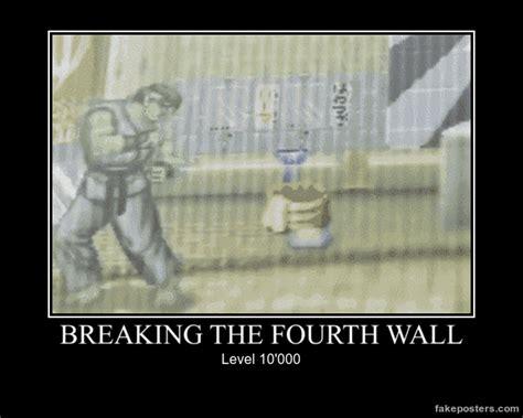 Hadouken Meme - breaking the fourth wall level 10 000 shoryuken