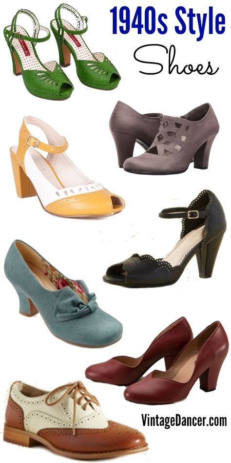 Style Shoes new 1940s shoes wedge slingback oxford peep toe