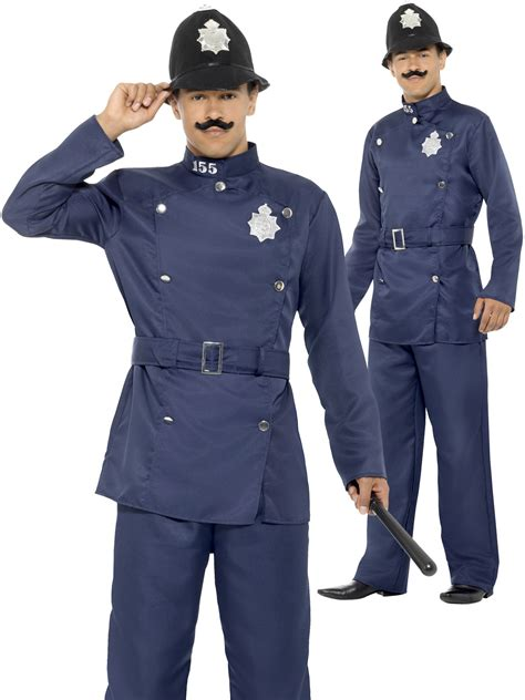 Dres Boboy mens bobby costume policeman fancy