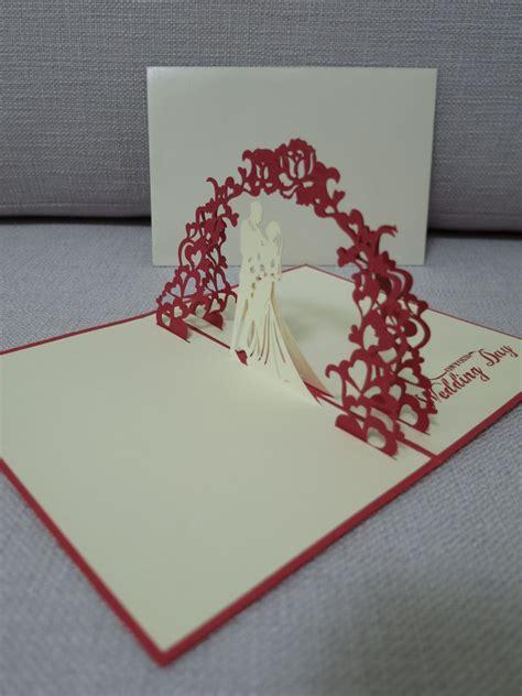 pop  wedding card wedding card pop  card