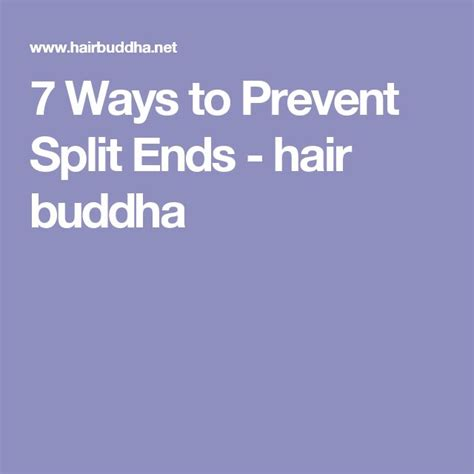 10 Ways To Treat And Prevent Split Hair Ends by 25 Best Ideas About Split Ends Repair On