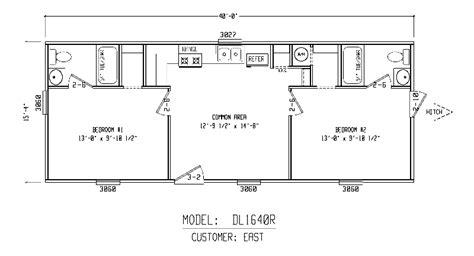 bunkhouse floor plans bunkhouse plans bunk house 16x40r cabins pinterest