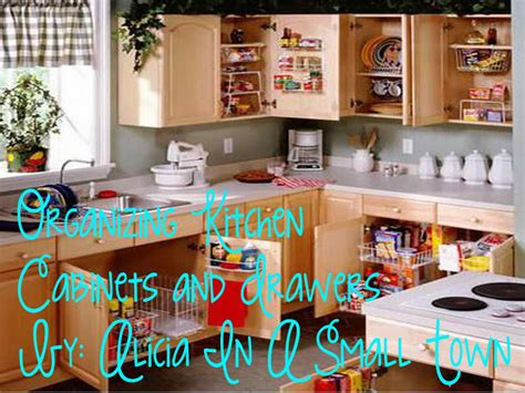 kitchen drawers and cabinets organization alicia in a