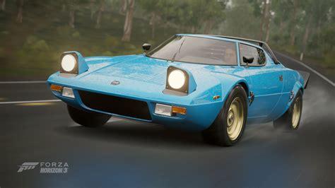 1974 Lancia Stratos Forza Horizon 3 Cars