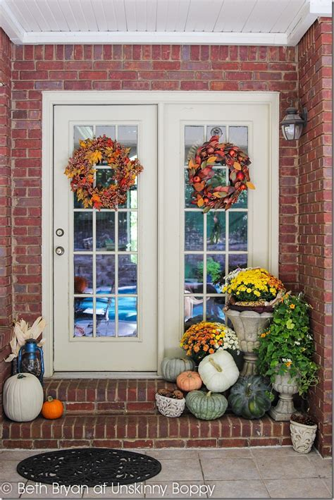 decorate front porch for fall decorating the back front porch for fall unskinny boppy