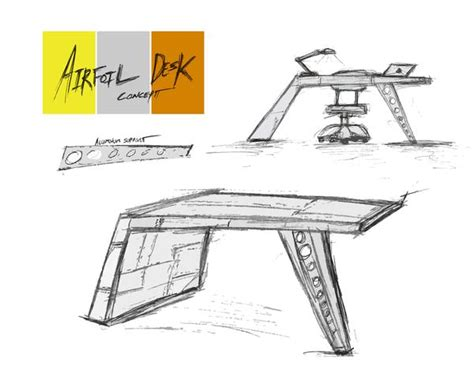 airfoil desk from sketch to aluminum part i