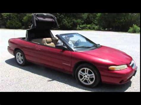 97 Chrysler Sebring 97 chrysler sebring convertible