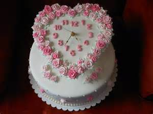 Starting A Cake Decorating Business From Home you have to see around the clock bridal shower cake on