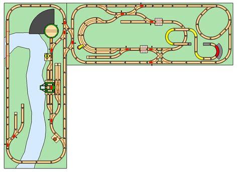 brio train track layouts brio wooden railway blog