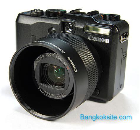 Len G9 by Canon Powershot G9 Bangkoksite