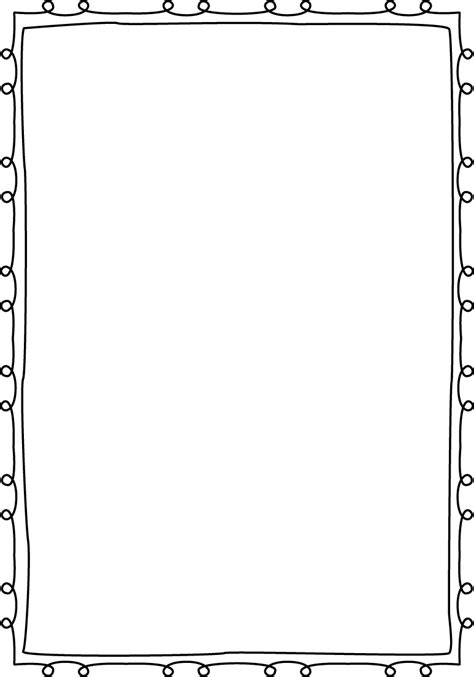 little loops double page border free page borders
