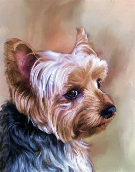 puppy portraits portraits a painted pet custom pet paintings
