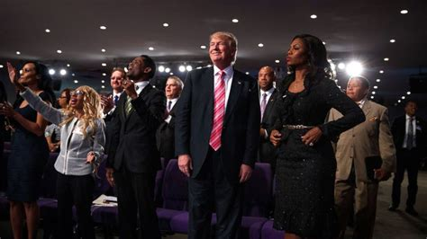 donald trump church trump tells black church members in detroit he is there to