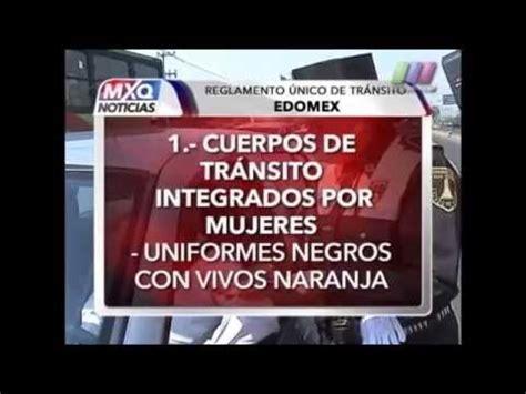 reglamento de transito edo mex 2016 reglamento de transito del estado de mexico es falacia