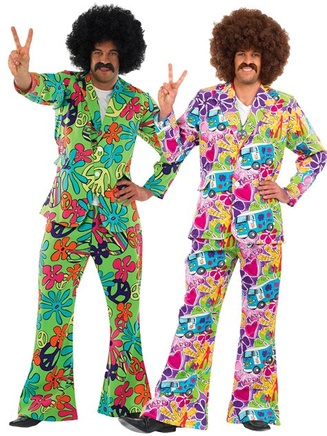 60er 70er mens 60s 70s hippie hippy psychedelic suit fancy