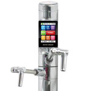 Water Ionizer Faucet Tyent Touchscreen Water Ionizer Amp Purifier High Tech