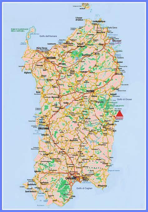 sardinia map sardinia map photos diagrams topos summitpost