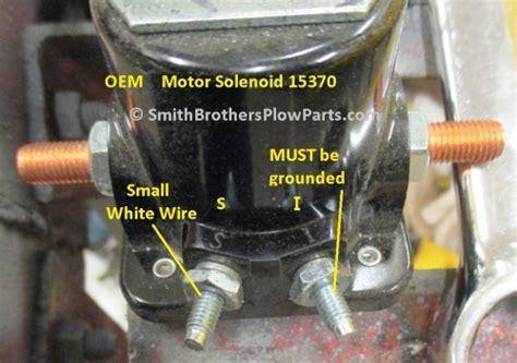 oem meyer plow motor solenoid