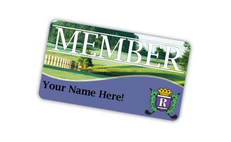 country club membership card template membership royal st augustine golf and country club