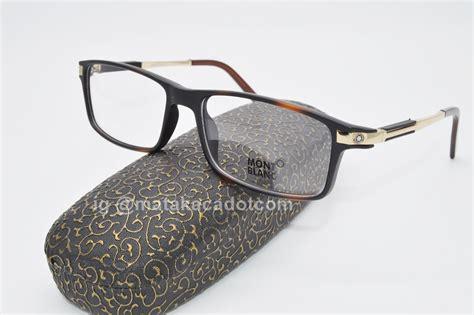 frame kacamata mont blanc 5007 leopard pusat kacamata murah
