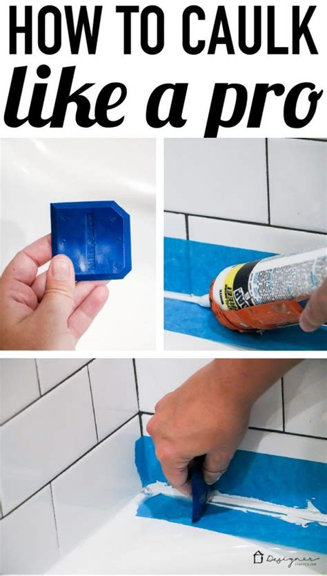 how to apply bathtub caulk how to caulk a bathtub a cautionary tale super easy
