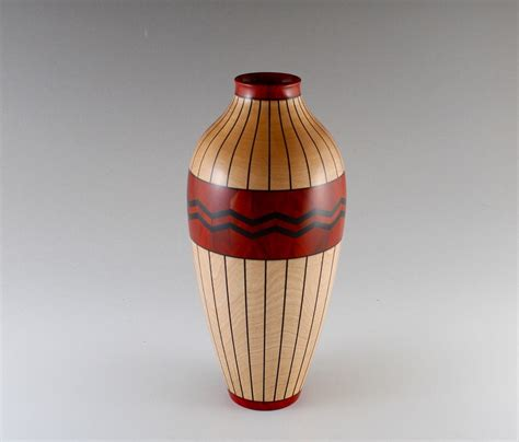 Permen Zig Zag Org Strawberry woodturning gallery of bruce berger