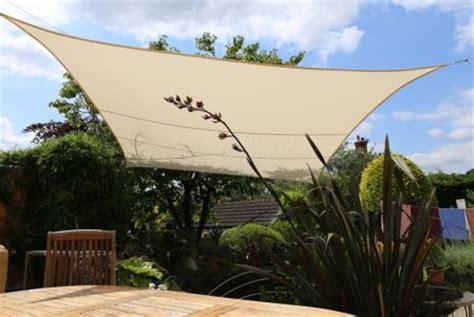 tenda a vela quadrata tenda a vela kookaburra 174 quadrata 3 6 m avorio tessuto