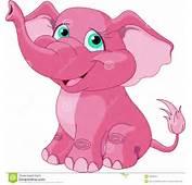 Elefante Cor De Rosa Imagens Stock  Imagem 26246514
