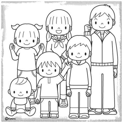 imagenes de la familia para colorear e imprimir imagenes de familia para colorear archivos imagenes de
