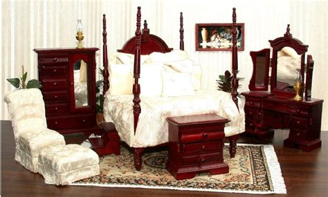 miniature dollhouse bedroom furniture sutter street bedroom furniture from fingertip fantasies