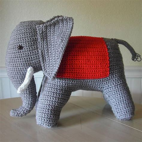 vintage elephant pattern 1940s vintage crochet elephant pattern