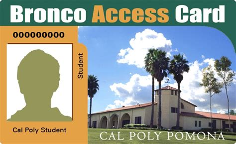 Cal Poly Pomona Admissions Office by Bronco Access Card