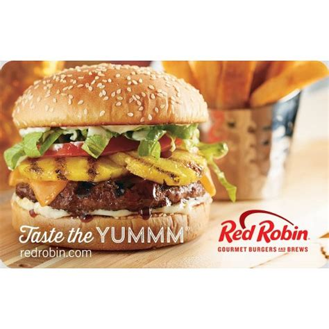 Red Robin Gift Card Discount - red robin gift card email delivery target