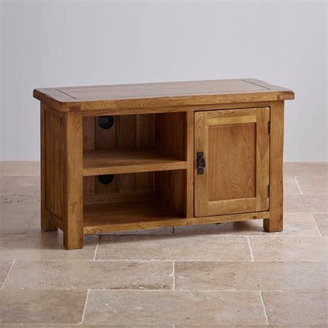 orrick rustic oak tv cabinet original rustic tv cabinet in solid oak oak furniture land
