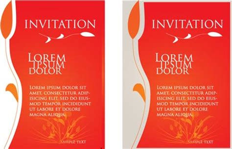 Wedding Card Design In Coreldraw Tutorial by Wedding Invitations Vector Templates