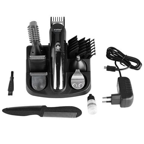 Exclusive Rechargeable Electric Hair And Beard Trimmer Wireless kemei km 600 haircut hair styling tools set wireless electric hair clipper shaver rechargeable