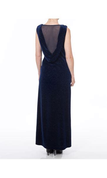 Melour Maxy sparkle velour maxi dress