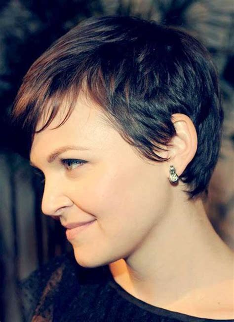 best short haircuts for brown hair on women over 60 20 brown pixie cuts short hairstyles 2016 2017 most