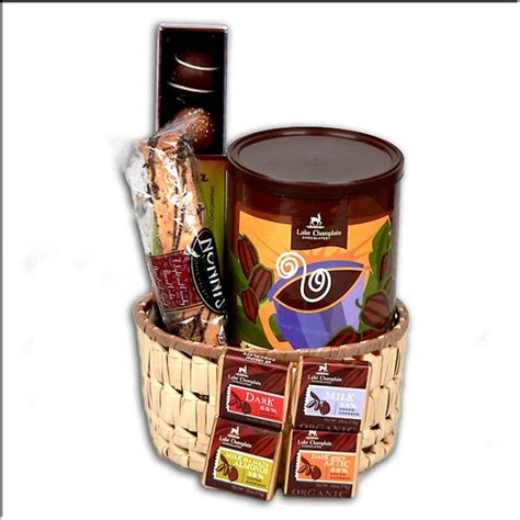 chocolate gift baskets gourmet chocolate gift basket with free shipping organic