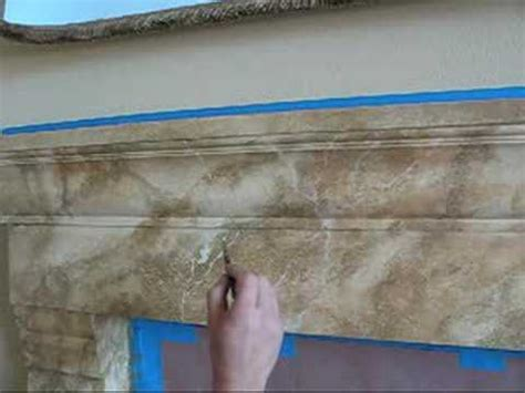 how to paint faux marble wall faux marble fireplace by southern california artist at
