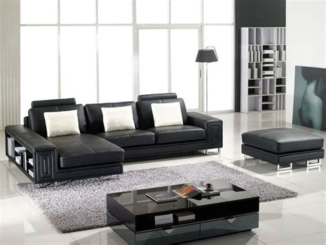 fabio leather sofa tosh furniture fabio modern leather sectional sofa and