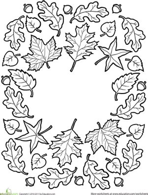 autumn mandala coloring pages fall mandala worksheet education com