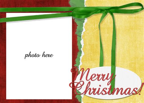 free christmas birth announcement photo card templates