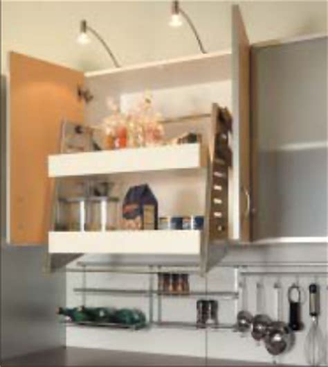 kitchen cabinet pull down shelves pull down shelf system pinterest estanter 237 as y vitrinas