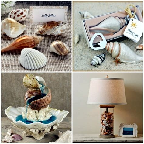 Do It Yourself Home Decor Projects maritime decoration make with shells themselves 15 craft