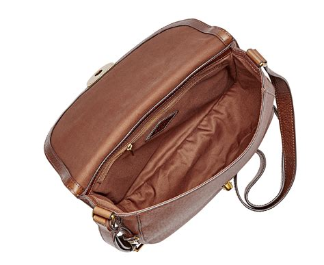 Purse Deal Saddle Bags by Fossil Emi Large Saddle Bag Brown Great Daily Deals At