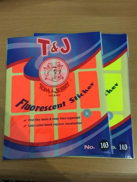 Tom Jerry Sticker Label No 103 distributor alat tulis kantor dan stationary label tom