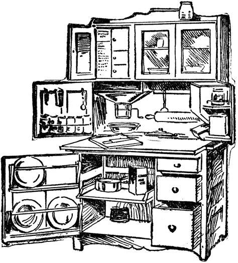 kitchen cabinet clipart clipart suggest