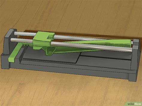 come tagliare piastrelle come tagliare le piastrelle 12 passaggi illustrato