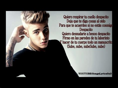 despacito youtube lyrics daddy yankee despacito letra ft justin bieber lyrics